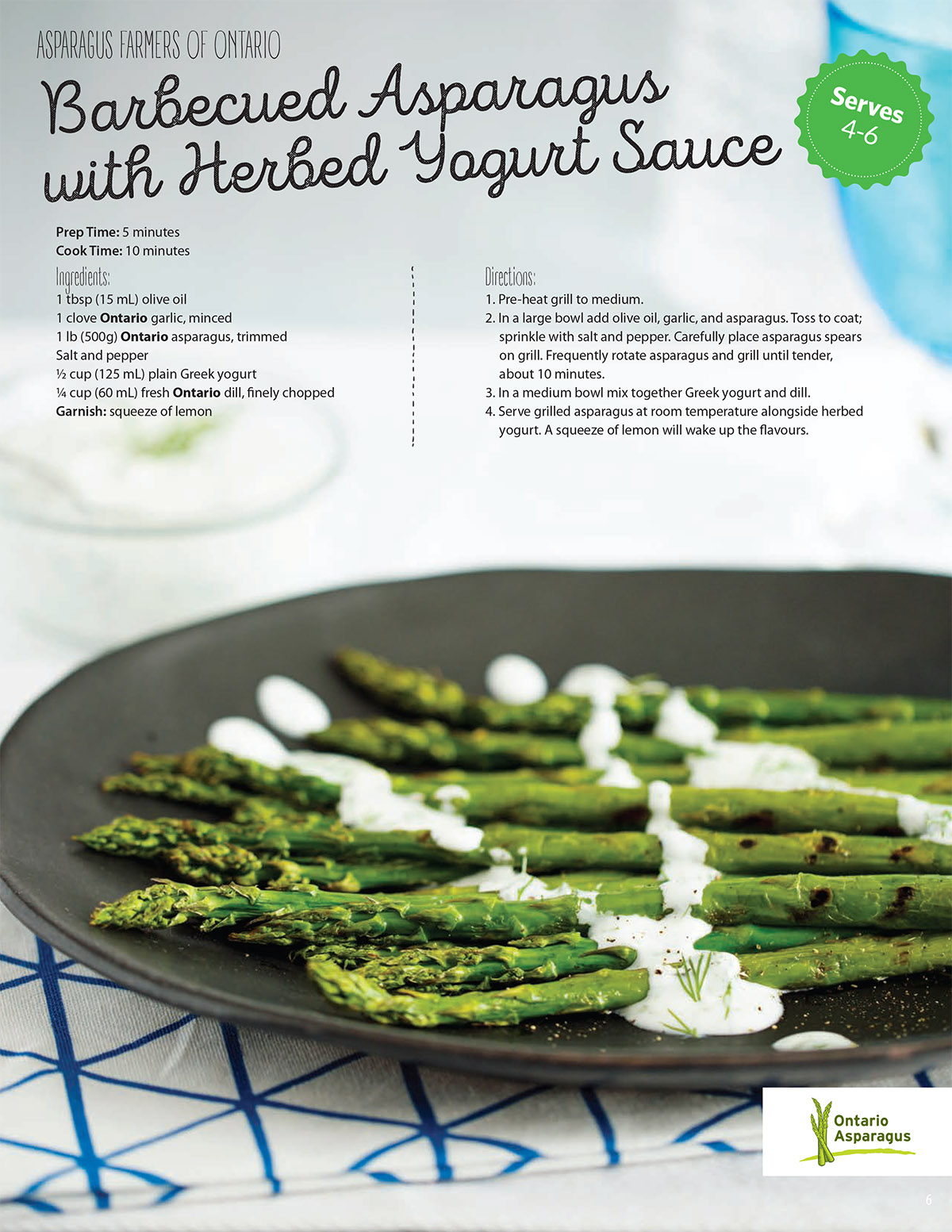 asparagus eat local recipe